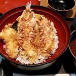 天ぷら ひさご - 天丼:980円