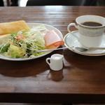 Cafe&diner West - 日替わりモーニング日曜日