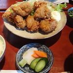 くろ吉 - 料理写真:鶏唐揚定食 1,050円