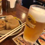 角屋 - おでんとビール