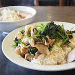 台北飯店 - 豚トロほうれん草丼