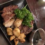 小樽食堂 - ラム ステーキ