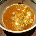112915583 - つけ麺のスープ