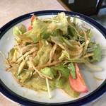 遊月 - 料理写真:韓国風サラダ(辛味)税別520円