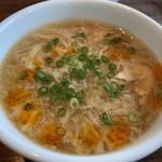 香港蒸籠 - 玉子の中華スープ