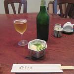ふじ多 - 料理写真:ハートランド・お通し
