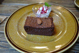 ヱントツコーヒー舎 - ガトーショコラ