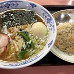 中華料理 好楽 - ラーメン500円+半チャーハン300円