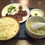 うまい牛たん 東山 - 牛たん定食