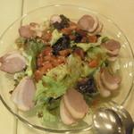 美花林 - 燻製鴨ロースサラダ