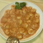 美花林 - 芝海老のトマトチリソース煮