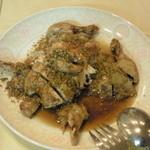 美花林 - ヒナ鳥の丸揚げ柚子ソースかけ