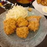 洋食かつ 兎 - もち豚ヒレ(3ヶ)  850円