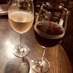 月のはなれ - グラスワイン赤・白