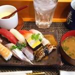 玄海鮨 - 貝汁もついて コンプリート