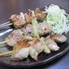 めん処 いせ徳 - 料理写真:●鶏ねぎま(3本)430円(税込)。      2019.08.03