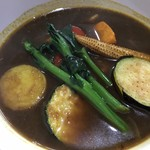 むちゃく - 素揚げの野菜たっぷり