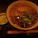吉祥庵 - たぬき蕎麦