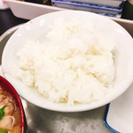 112931612 - 白御飯、銀シャリです。(2019.7 byジプシーくん)