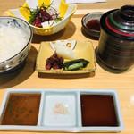 日本料理 栗吉 - 黒毛和牛炙り御膳