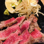 日本料理 栗吉 - 黒毛和牛炙り