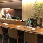 日本料理 栗吉 - カウンター席