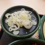 ゆで太郎 - 薬味
