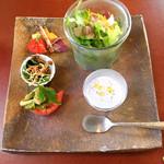 Aji-to - 贅沢セットの前菜
