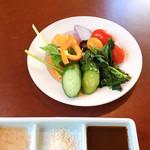 Aji-to - 野菜バーからの野菜