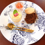 Aji-to - 贅沢セットのデザート