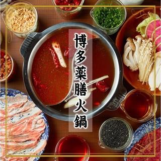 【関東初上陸!】博多薬膳火鍋でお腹も心も鷲掴み!