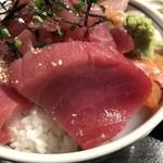 112944253 - 海鮮丼マグロアップ