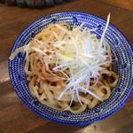 濃厚醤油麺 ミツジロウ - 替玉 120円(2019年8月)