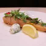 Trattoria La Cenro - 料理写真:タスマニアサーモン ディルとレモンのソース