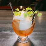 Cafe and Bar on℃ -温度- - カシスシードル