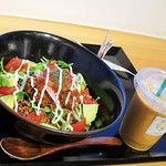 オーガニックカフェ・ラムノ - ベジタコ丼ビーガン対応900円外税 beautiful skin800円外税w