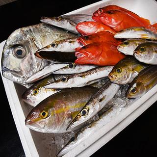 漁港直送の海鮮物