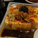 鳥吉 - ラー油やっこ(3000円コース)