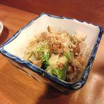 おでん酒菜 たばた - 小松菜おひたし(350円)