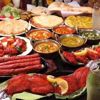 ディナー貸切大歓迎◆食べ飲み放題コース3,480円!