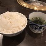 石垣島きたうち牧場 - ごはん&スープ