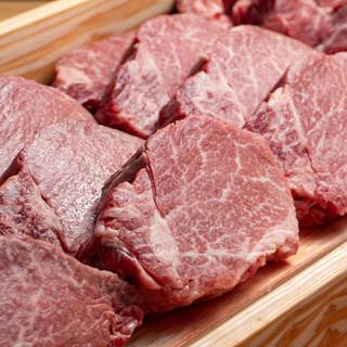 【和牛ヘレ肉】肉厚でフォークで割く柔らかさ『きみや』スタイル