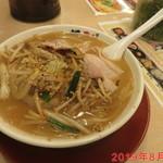 ラーメン横綱 - 炒め野菜ラーメン 830円