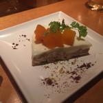 サクラバル - * レアチーズケーキ 500円