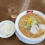 ra-membandai - 味噌ラーメン(691円)