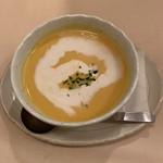 洋食工房 陶花 - かぼちゃの冷製スープ