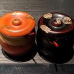 ステーキ&しゃぶしゃぶ ふじた - [料理] 香辛料 2種