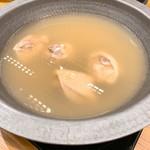 京やさいと水たき 華味鳥 - 水炊き