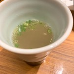 京やさいと水たき 華味鳥 - この鶏スープが美味しい