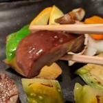 ステーキ&しゃぶしゃぶ ふじた - [料理] 椎茸 ひと口大 アップ♪w